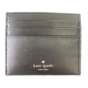 Kate Spade Ice Skating Card Case Holder Wallet